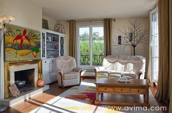 Appartement Duplex dernier étage Bailly 6 pièces 110 m²