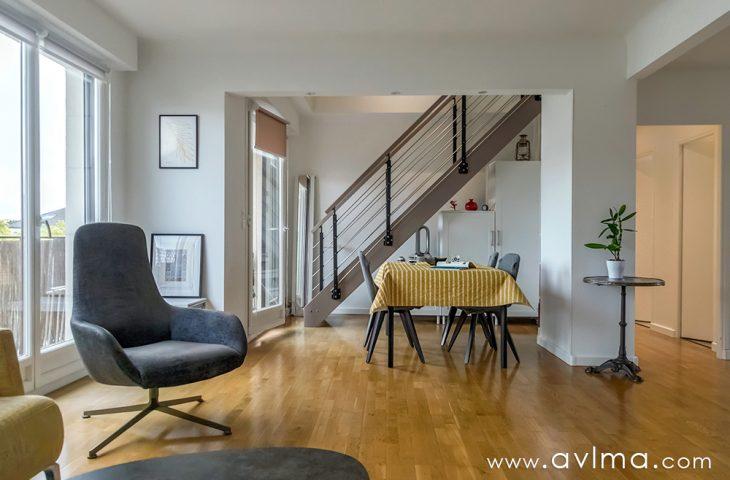 Appartement Bailly rénové 5 pièces 140,8m² sol